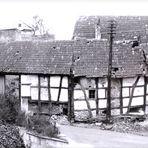 Dieser alte Bauernhof wurde kurz nach diesem Foto abgerissen.