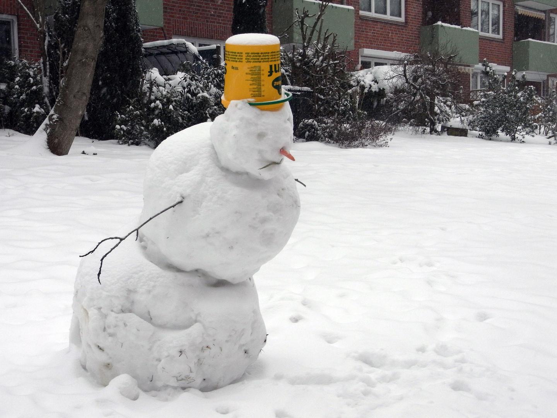 Dieser Schneemann...