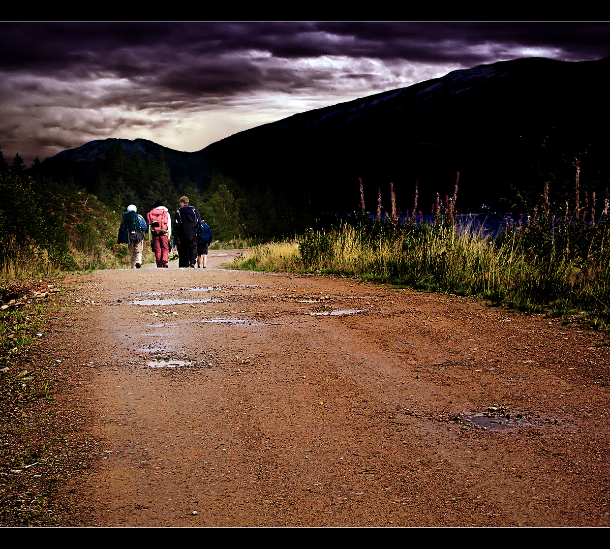Dieser Weg.