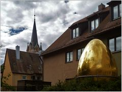 Dieses goldene Ei ...