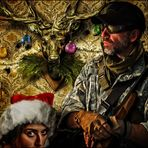 Dieses mal hat er zu Weihnachten aber einen echten Bock geschossen ;-)