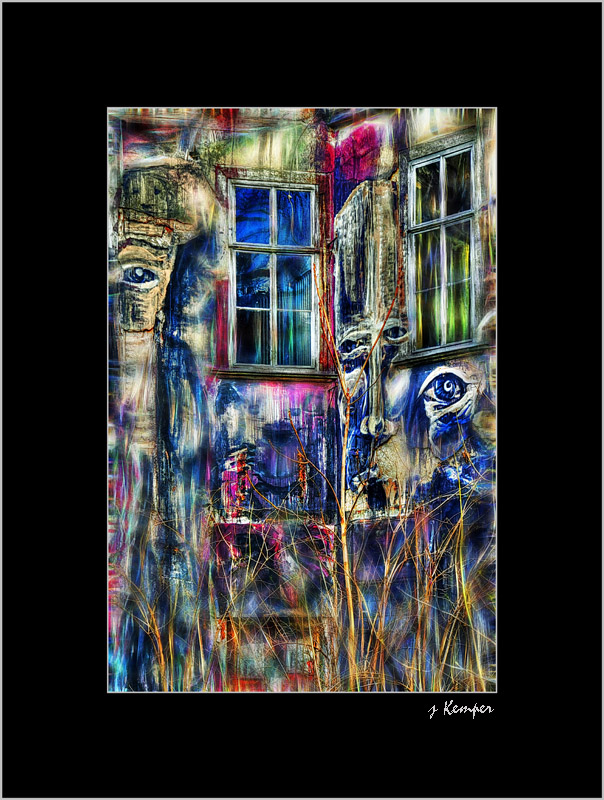 DigiART - Das Geisterhaus in Erfurt -