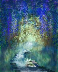 Digitale Malerei: Dschungel