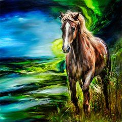 digitales Gemälde von High Flyer