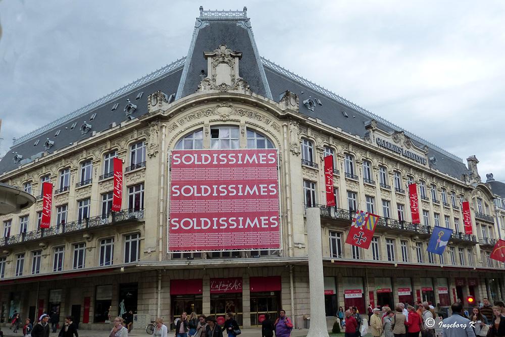 Dijon - Das größte Kaufhaus in der Stadt