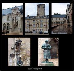 Dijon - Herzoglicher Palast - Detailaufnahmen