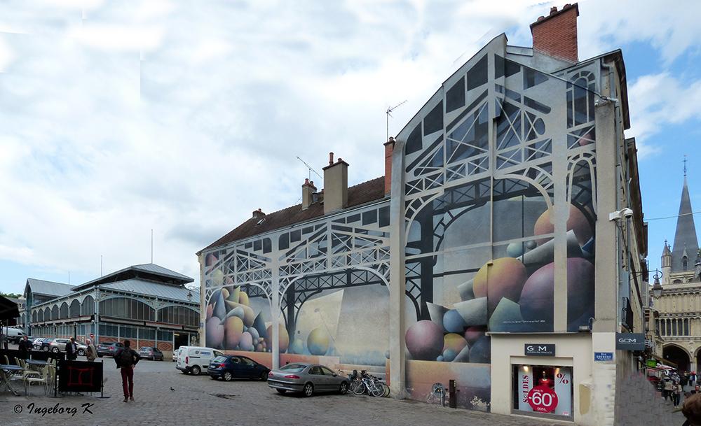 Dijon - Markthallen