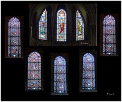 Dijon - Notre Dame - Kirchenfenster