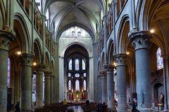 Dijon - Notre Dame - Kirchenschiff