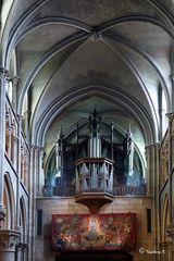 Dijon - Notre Dame - Orgel