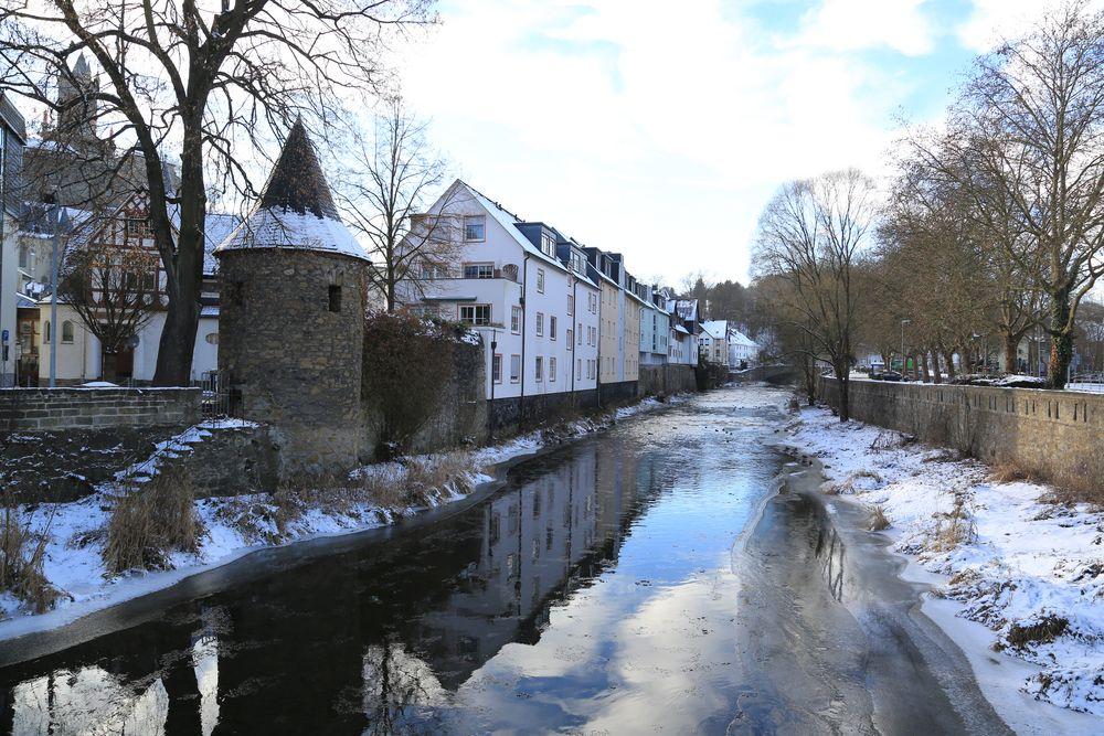 Dillenburg (Ia) - Dillturm und Dill