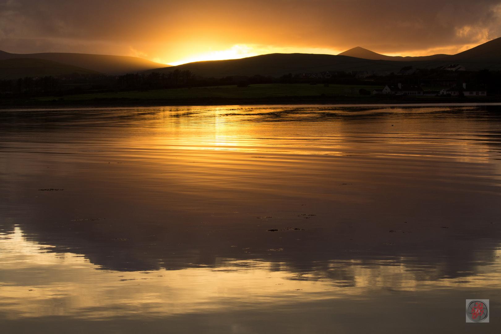 Dingle Harbour, Irland Abendstimmung - Photoshop nicht erforderlich