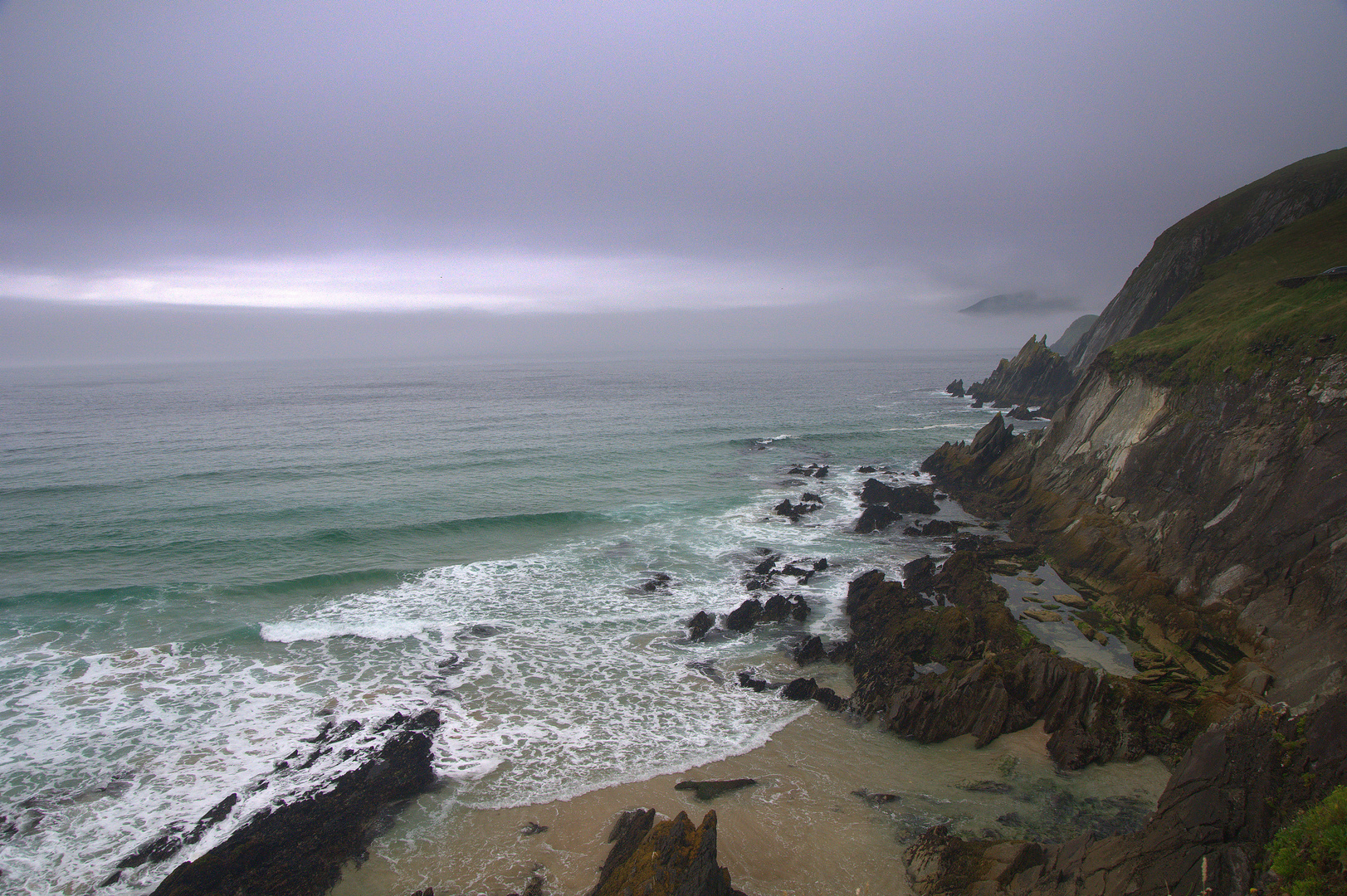Dingle-Ireland Küste