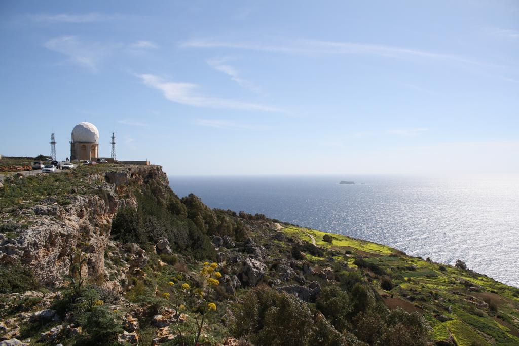 Dingli Cliffs - Radarstation