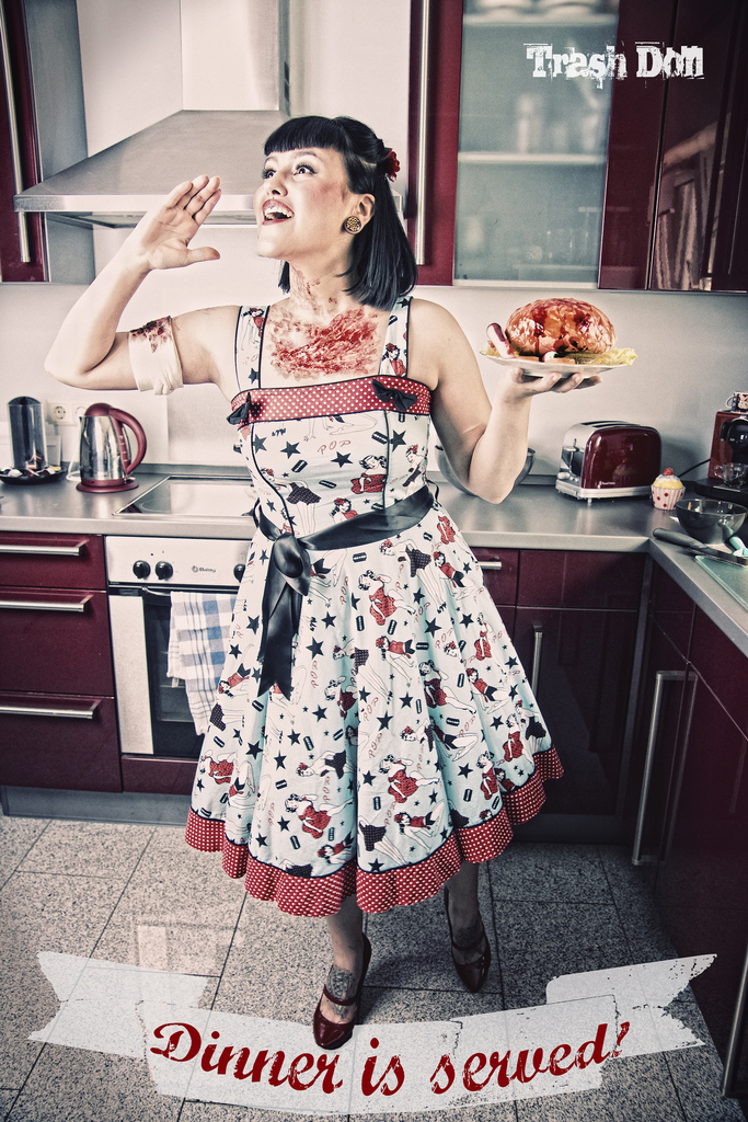 Dinner is Served / The Zombie Pin-Up