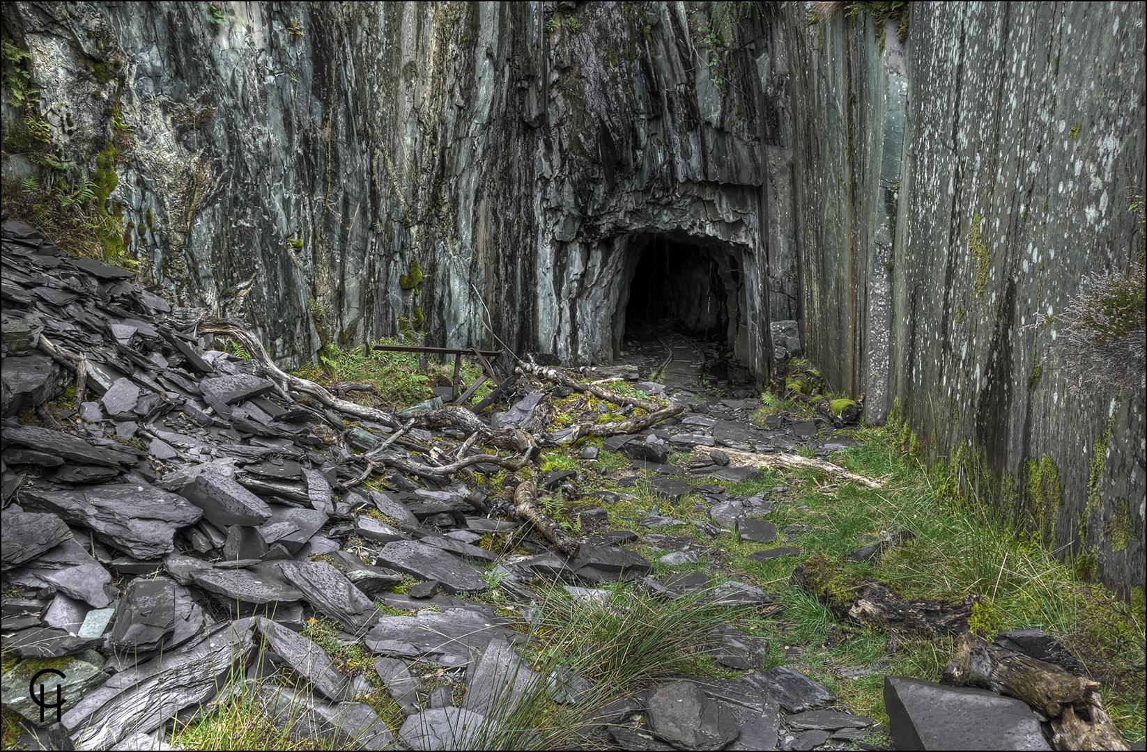 Dinorwig Abandoned Slate Quarry - Llanberis North Wales