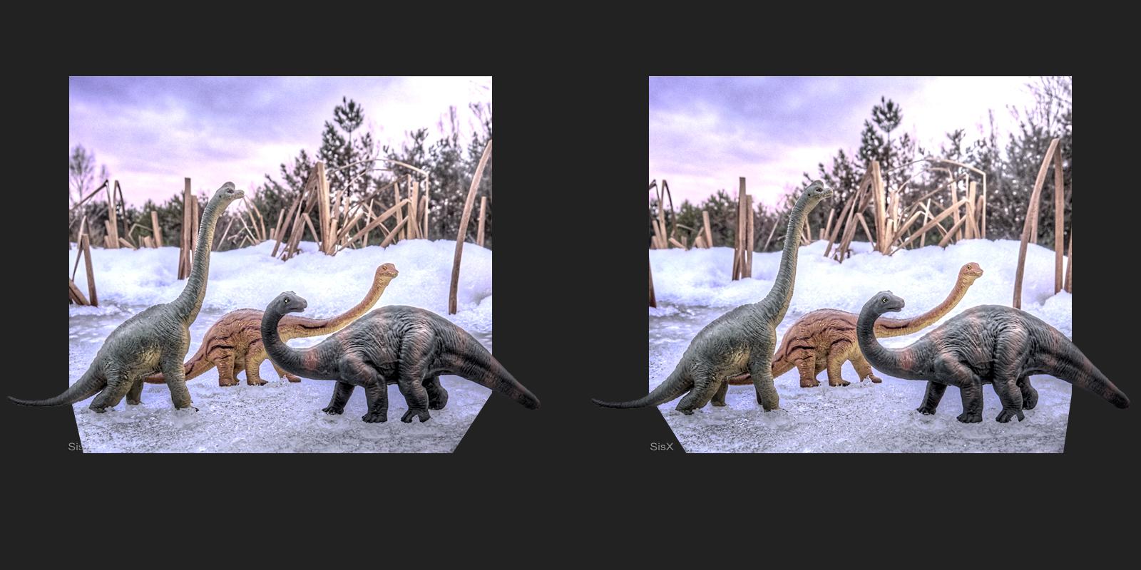 Dinos auf Eis