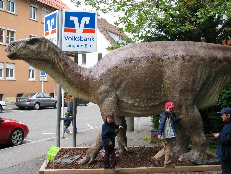 Dinosaurier in Reutlingen