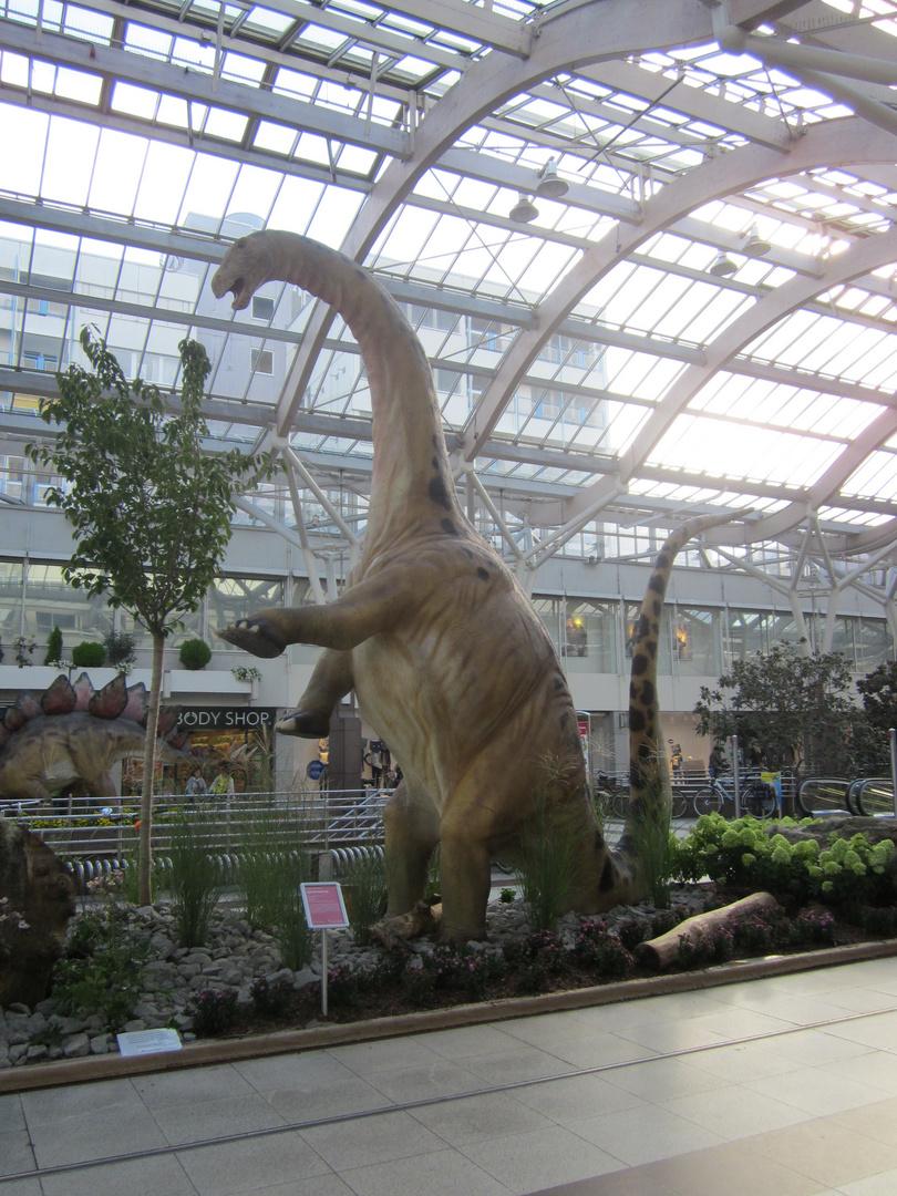 Dinosaurierer-Ausstellung