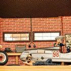 Diorama einer Autowerkstatt (2)