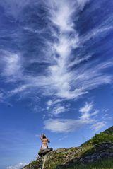 Dirigentin des Tanz des Wolkendrachen