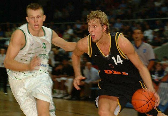 """Dirk """"The Wunderkind"""" Nowitzki"""