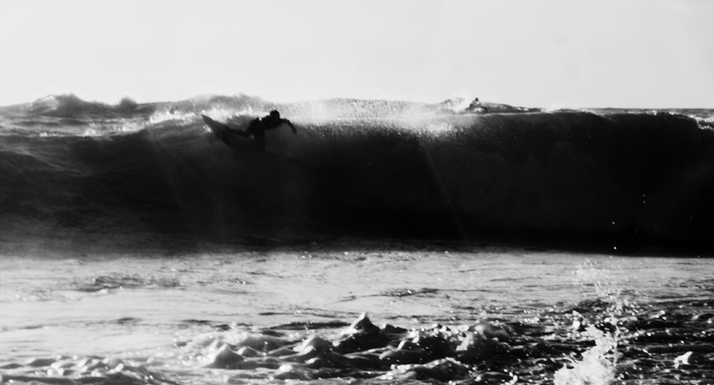 Dirty Black and white Swell