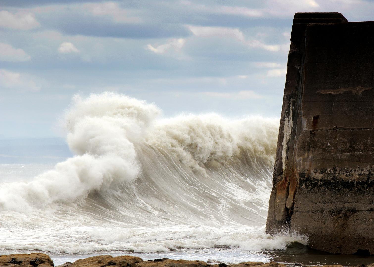 Discover my Scotland - Part 25: Wellen vor Balintore I