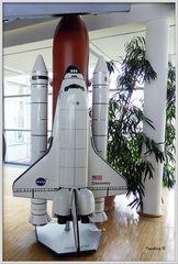 Discovery-Rakete der NASA - Modell