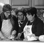 discussion en cuisine - discussione in cucina