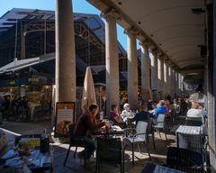 Disfrutando de la vida ( Mercat de la Boqueria Barcelona )