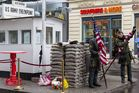 Disneyland am Checkpoint Charlie