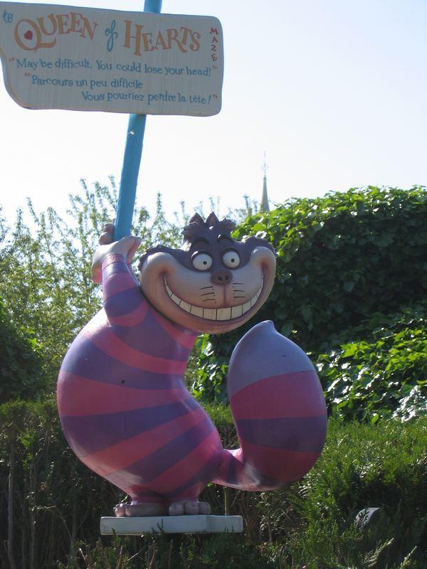 Disneyland Paris - Cheshire Cat