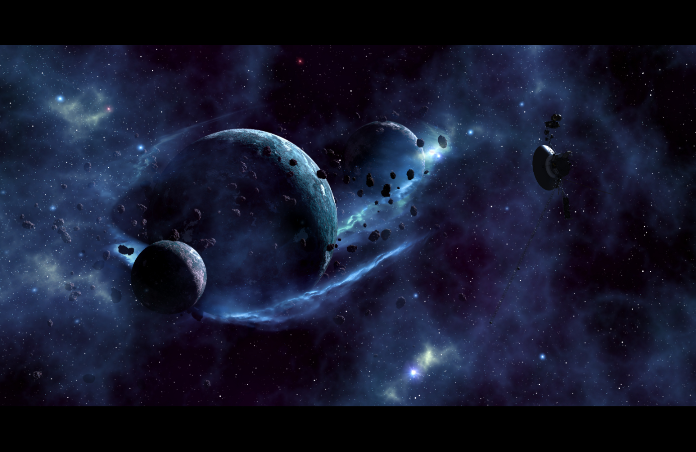 ...distant worlds...
