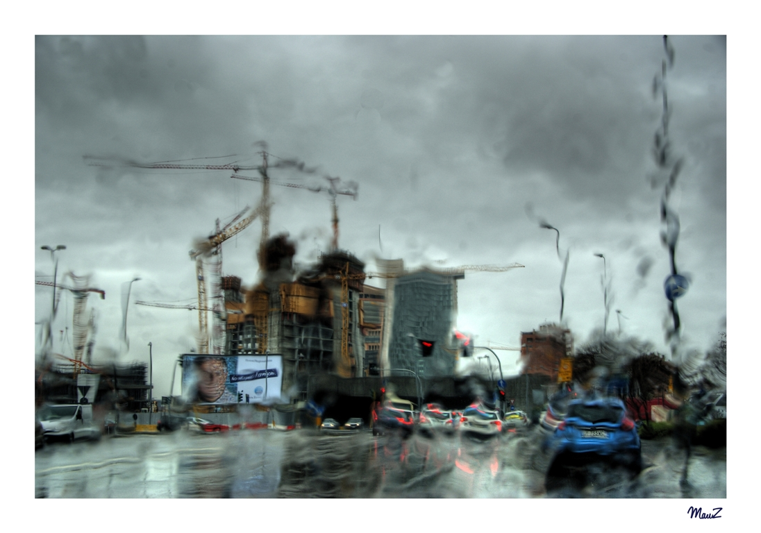 ... Distorted City....