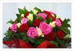 Dites le avec des fleurs...et des Roses...