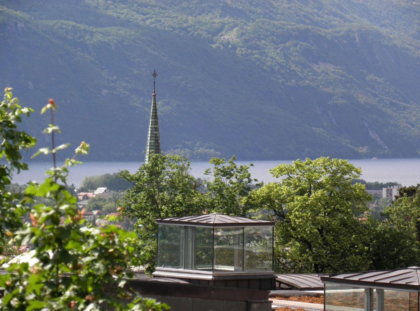 Divers clochers sur Aix les Bains - Savoie 73