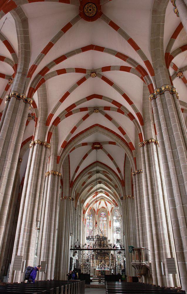 Divi-Blasii-Kirche in Mühlhausen, Thüringen