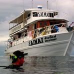 Diving boat Saimai