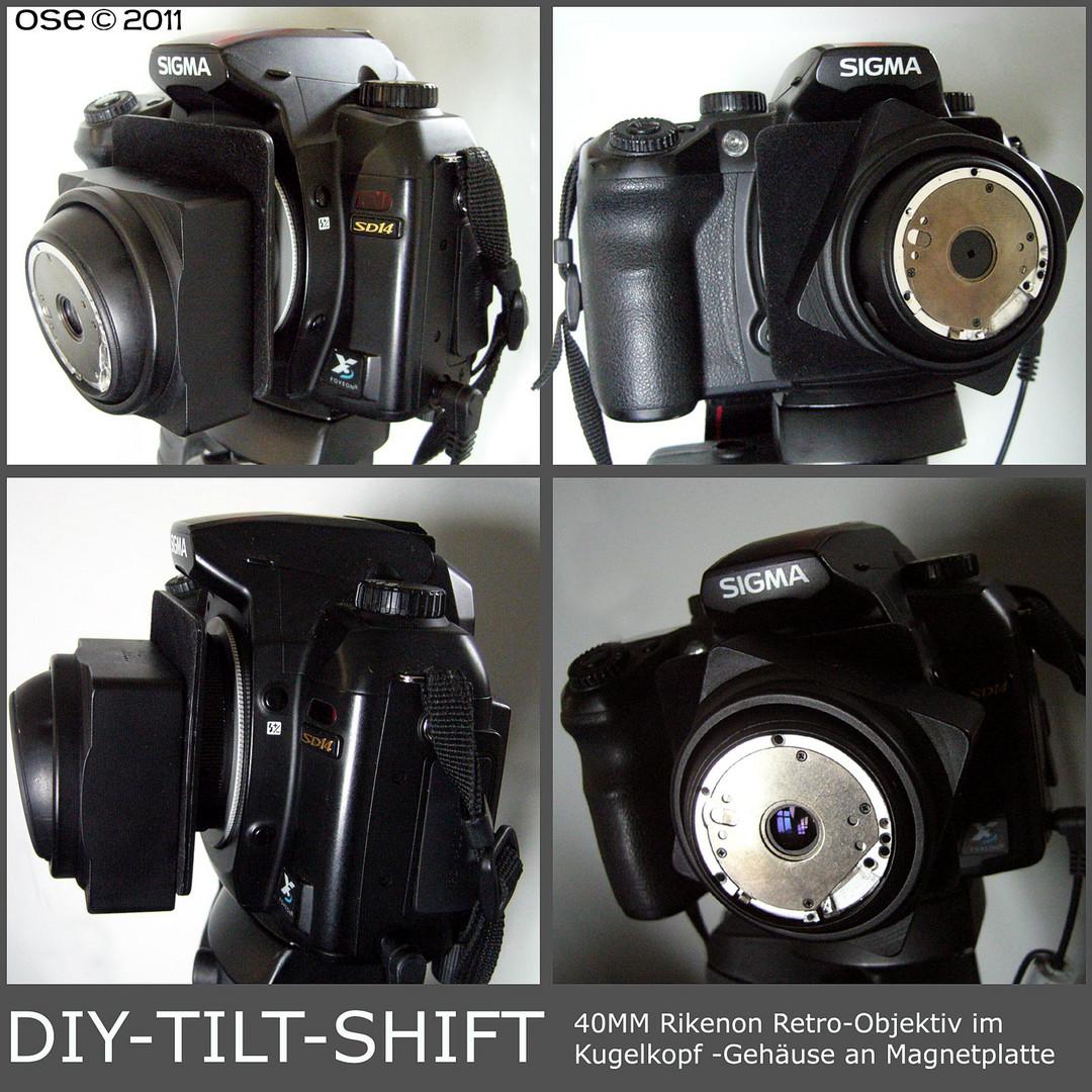 DIY-Tilt-Shift 40mm Rikenon Retro