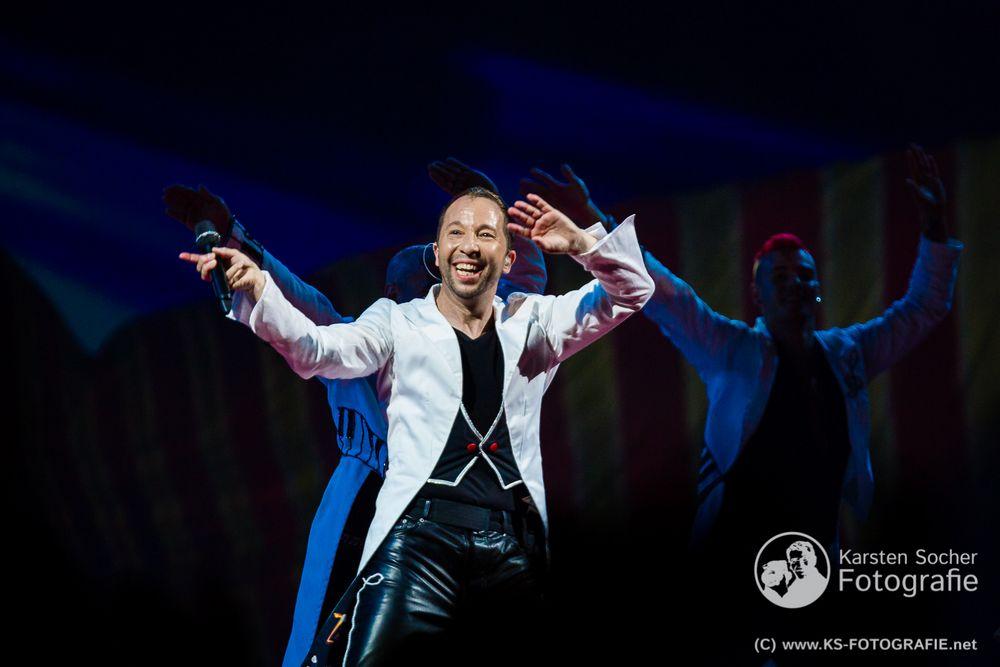 """DJ Bobo """"Circus-Tour 2014"""" 7"""