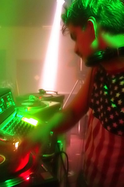 Dj-ing@D&b party