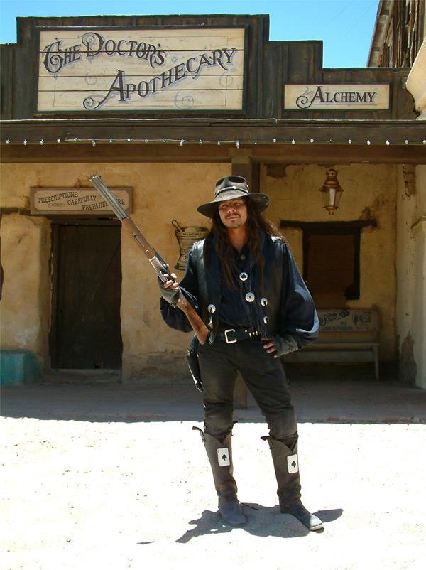 Django zahlt Heute nicht, Django hat Monatskarte!
