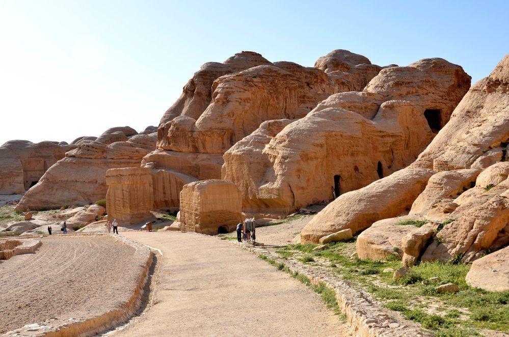 Djin Blocks in Petra