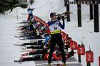 DJM Biathlon in Clausthal-Zellerfeld - Einschießen