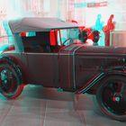 DKW F1 - Cabrio 1932 / 3 D Anaglyphe