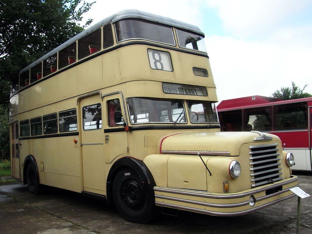 Do 56 Doppeldeck Ommnibus Foto Bild Bus Nahverkehr