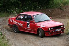 """""""Do it Sideways!"""" Osterburg Rallye, BMW 318 is"""