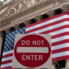 DO NOT ENTER New York Stock Exchange