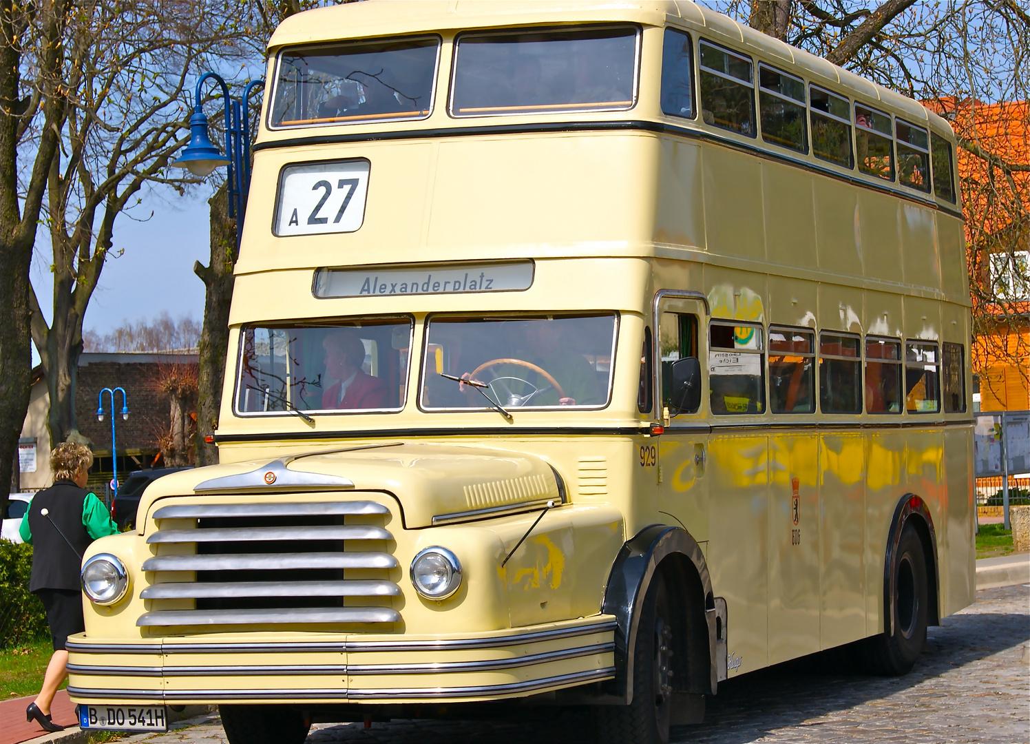 Do54 aus 1959 in Gosen b. Berlin auf den Spuren der alten LinieA27